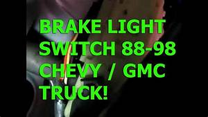 1998 Chevy Silverado Brake Light Switch Wiring Diagram