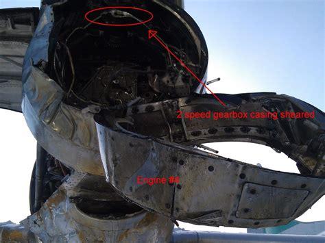 Buffalo Electra (Ice Pilots fame) Stb main gear up landing ...