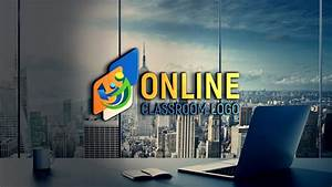 Free, Online, Class, Logo, Design, Free, Psd, Template