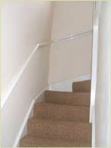 Staircase Method by How To Install Handrails On A Wall