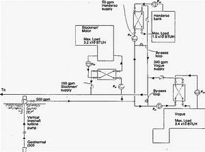Residential Geothermal System Diagram