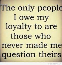 Loyalty Quote People