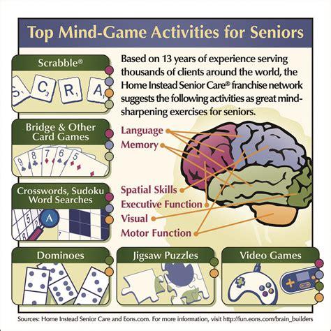 top mind games activities  seniors brain games