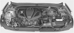 Hyundai Sonata  Engine Compartment