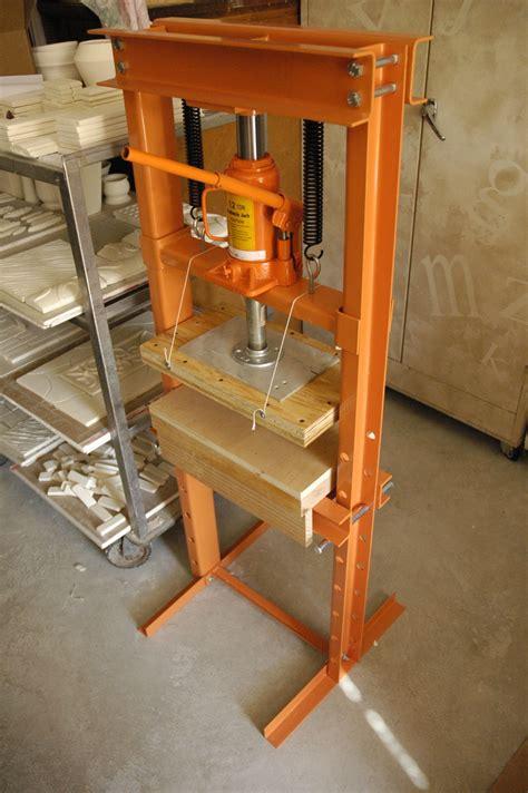 hydraulic tile press createniks