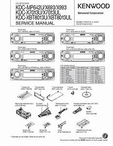 Kenwood Kdc X693 Wiring Diagram