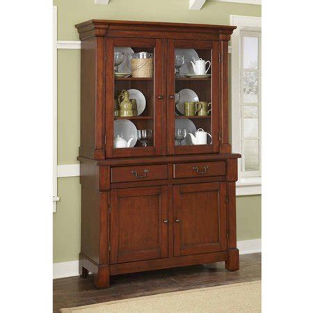 china cabinet walmart home styles aspen collection buffet and hutch walmart