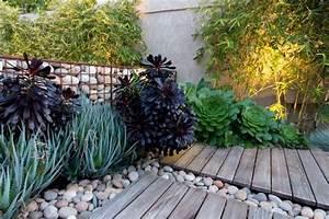 mur et cloture gabion idees pour le jardin en 31 photos With mur de galets jardin