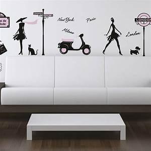Sticker World fashion 50 cm x 70 cm Leroy Merlin