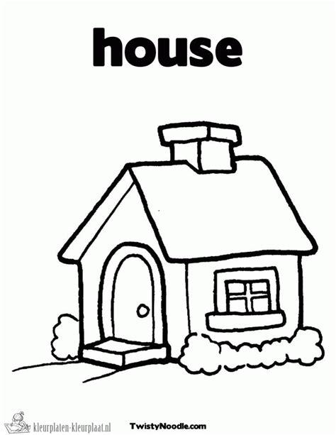 Huis Up Kleurplaat by Kleurplaten Huis Kleurplaten Kleurplaat Nl