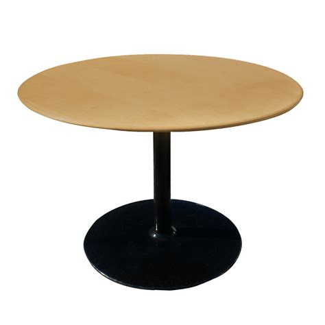 42 round dining table 42 quot round mid century modern knife edge dining table ebay