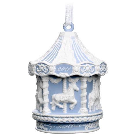wedgwood christmas ornament carousel 2011