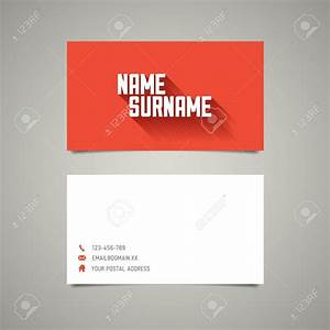 Simple business cards templates business card idea simple for Template of business cards
