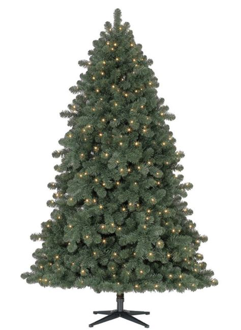 8 foot hancock spruce artificial christmas tree led