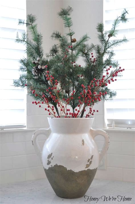 christmas decor in the kitchen honey we re home