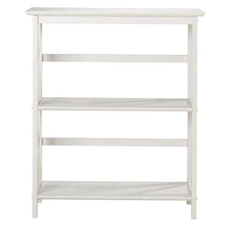 White Open Bookcase by Pro Line Ii Prado White Open Bookcase Prd3230 Wh The