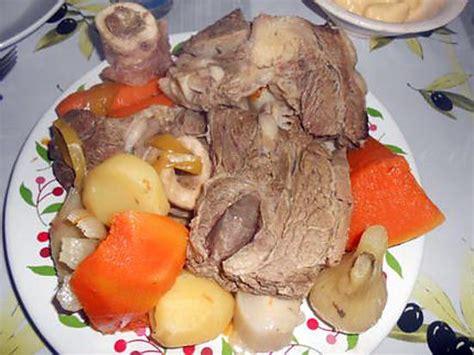 recette de petit pot au feu et farandole de legumes