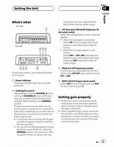 Pioneer Eeq Mosfet 50wx4 Wiring Diagram