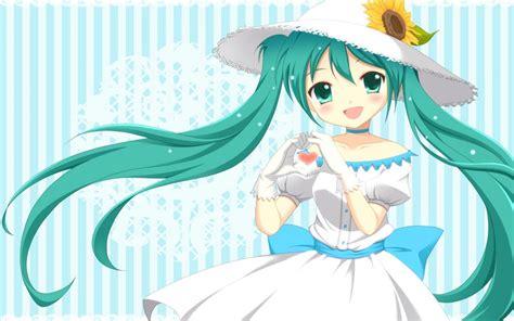Hatsune Miku Wallpaper Cute Wallpapersafari