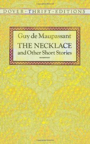 necklace   short stories  guy de maupassant