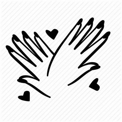 Nail Manicure Icon Hand Fingernail Beauty Polish