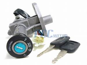 Ignition Key Switch 4 Wire 150cc Gy6 Moped Scooter Bike Taotao Roketa Ks09