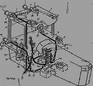 Roll-gard U2122 Wiring - Tractor John Deere 4450