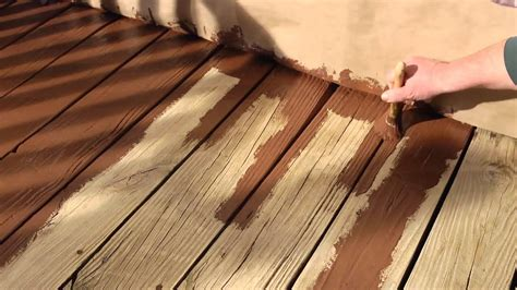 resurface  wood deck  olympic rescue