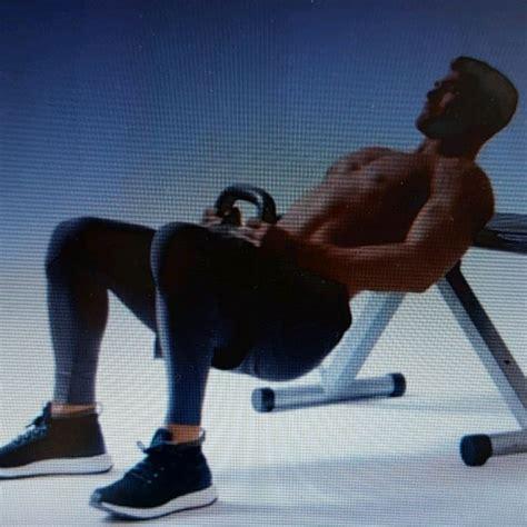 kettlebell thrusters hip skimble exercise