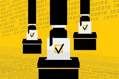 Ballot Voting Election Technology Error Security Machine