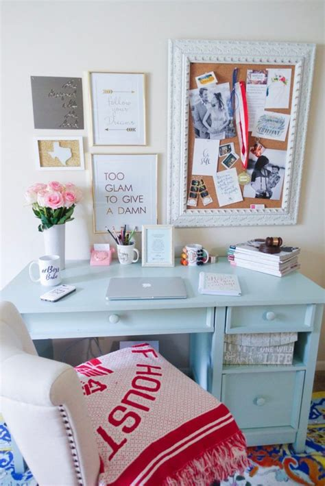 desk decorations ideas  pinterest diy desk
