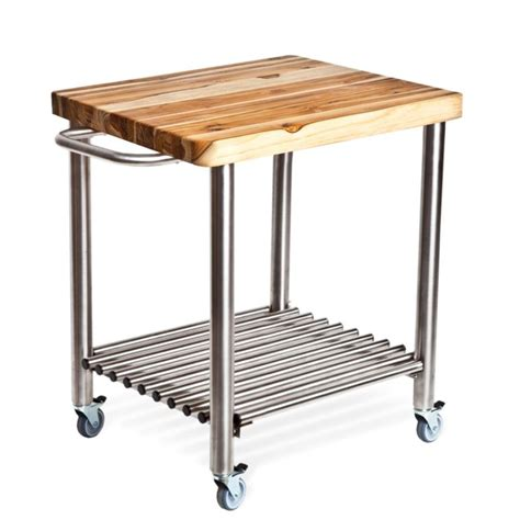 kitchen carts on wheels kitchen small stainless steel movable kitchen island with