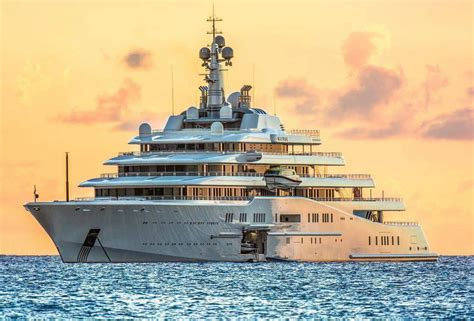 current top ten largest luxury yachts  charter