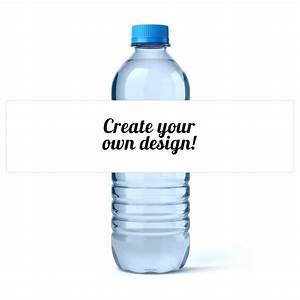 Free Custom Water Bottle Labels Template Water Bottle Labels Free
