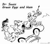 Ham Eggs Coloring Seuss Dr Pages Goat Printable Could Sheet Sheets Template Egg Getdrawings sketch template