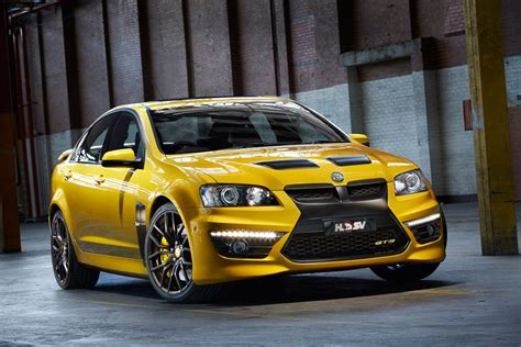 holden gts hsv gts 25th anniversary aims limited run hsv gts ready