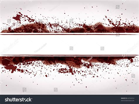 Abstract Grunge Paint Blood Splatter Background Stock