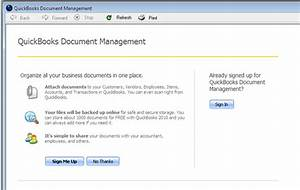 quickbooks 2010 document management practical quickbooks With quickbooks document management