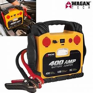 Batterie Tech 9 : wagan tech 400 amp battery jumper field supply ~ Medecine-chirurgie-esthetiques.com Avis de Voitures
