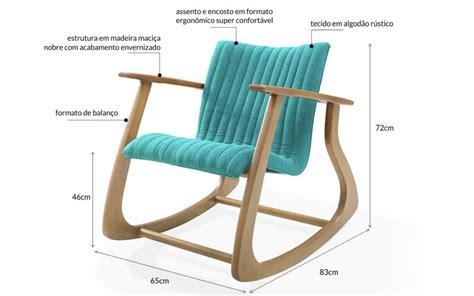 Poltrona Design De BalanÇo Smith MetalassÊ 65x83x72cm