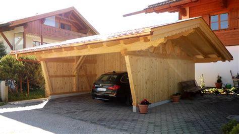 Carport Zimmerei Sperer Wallgau