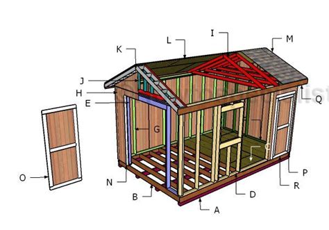free 10x16 shed plans 17 best images about outdoor shed plans free on