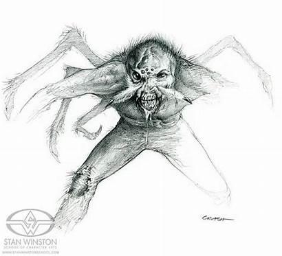 Creature Stan Winston Mccreery Earth Crash Mark