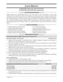 resume sles for managers operations manager resume exles sles resume sles