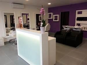 Mobilier Salon De Coiffure : salon de coiffure ambiance glamour les deux nuances meubles pour coiffeur paris marseille gds ~ Teatrodelosmanantiales.com Idées de Décoration