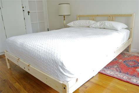fjellse bed frame from fjellse to fab ikea hackers