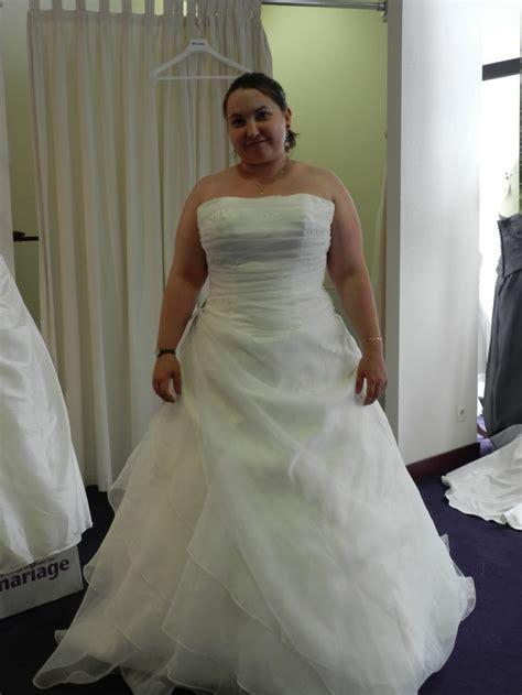 robe de mariee grande taille tati