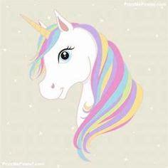 unicorn pattern   printable outline  crafts
