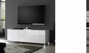 Meuble Tv Blanc Laqué : meubles tv design italien cw26 jornalagora ~ Teatrodelosmanantiales.com Idées de Décoration