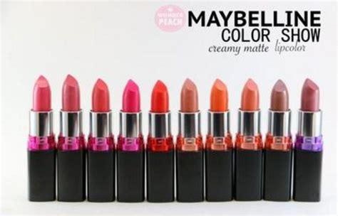 harga lipstik maybelline matte terbaru oktober 2018